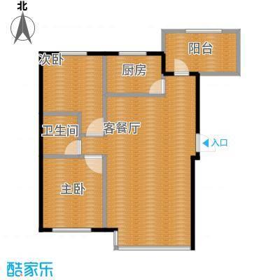 金沙枫景尚城95.83㎡户型10室