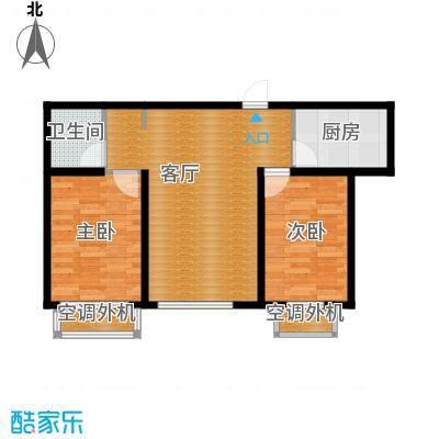 泰盈十里锦城62.68㎡户型10室