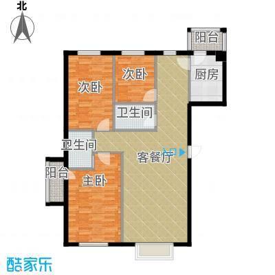 书香人家131.69㎡最新户型10室