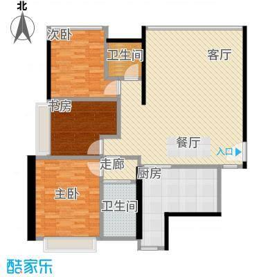 沈阳天地156.78㎡A户型3室2厅2卫