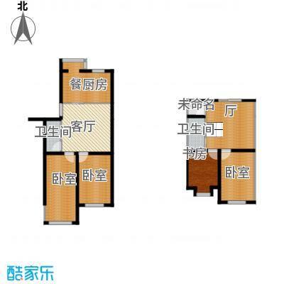 羽丰西江春晓125.95㎡户型1室1厅2卫