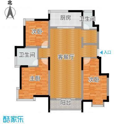 卓达三溪塘146.76㎡C1户型10室
