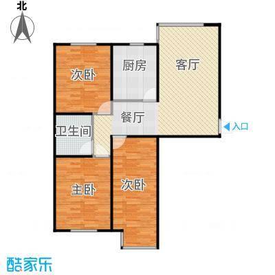 证大光明城102.00㎡三期22、25号楼3C1户型3室1厅1卫
