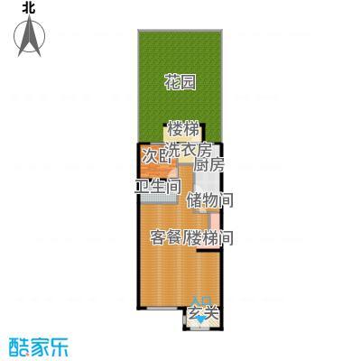 富力新城148.91㎡A2首层户型10室
