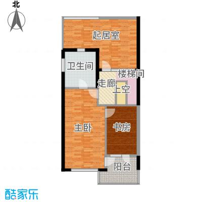 富力新城88.57㎡A1二层户型10室