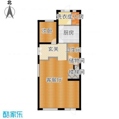 富力新城94.35㎡A1首层户型10室