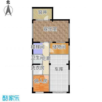 牛驼温泉孔雀城221.00㎡臻泉联院地下一层户型10室