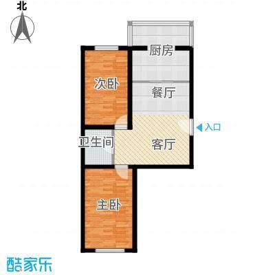荣发时代新城72.36㎡户型10室