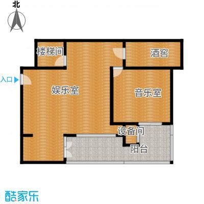 廊坊孔雀城139.00㎡图为一层户型4室3厅2卫
