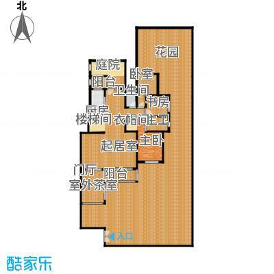 廊坊孔雀城139.00㎡图为首层户型4室3厅2卫