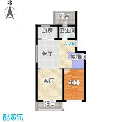 观澜墅176.75㎡上叠三层户型10室
