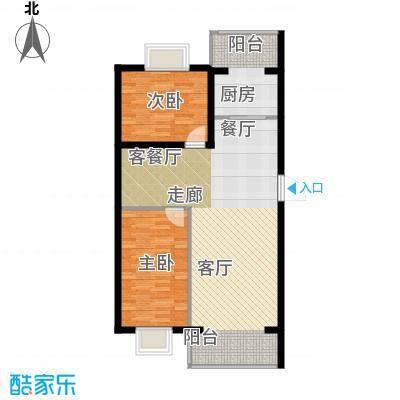 荣发时代新城80.77㎡户型10室