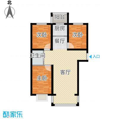 荣发时代新城91.74㎡户型10室