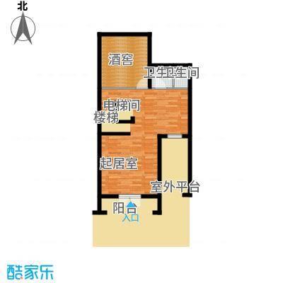 观澜墅202.99㎡克拉墅A下室平面图户型10室