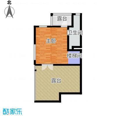 观澜墅176.75㎡上叠五层户型10室