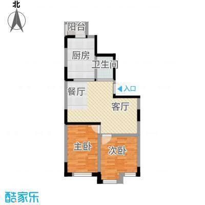 天润中华城61.33㎡户型10室