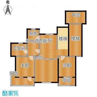力旺塞歌维亚137.60㎡5户型2室1厅1卫1厨
