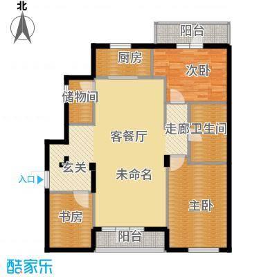 万科潭溪别墅138.00㎡C户型10室