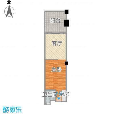 国光滨海花园63.10㎡户型10室