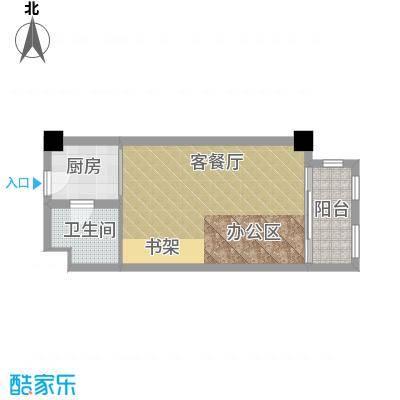 复地嘉年华广场40.51㎡户型10室