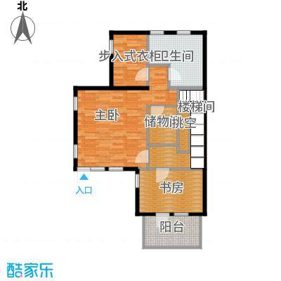 大运河孔雀城70.88㎡d1四层户型10室