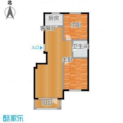 华亿红府94.00㎡B-3户型10室