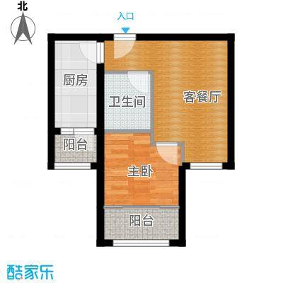 百隆东外滩花园42.06㎡D方户型10室