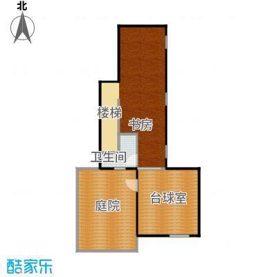 大运河孔雀城72.12㎡大堡产品A三层户型10室