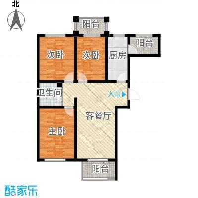 香公馆109.15㎡Q户型3室2厅1卫