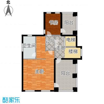 孔雀海123.49㎡独栋C三层户型10室