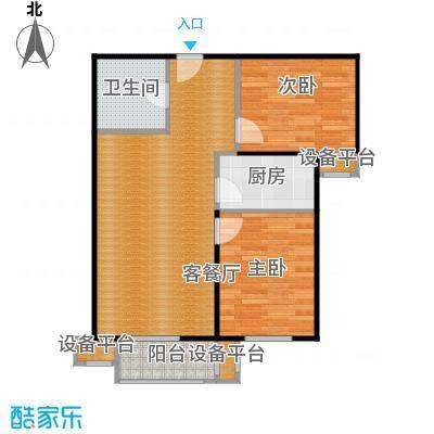 京汉君庭84.42㎡I-1户型10室