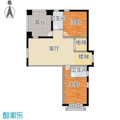 孔雀海107.23㎡独栋C二层户型10室