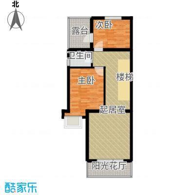 世茂・萨拉曼卡71.13㎡叠拼别墅上叠B2三层户型10室