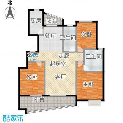 丁香花园137.00㎡三期紫庭A户型10室