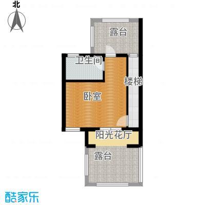 世茂・萨拉曼卡55.96㎡叠拼别墅上叠B2四层户型10室