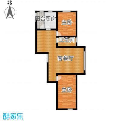 金嘉水岸91.54㎡户型10室