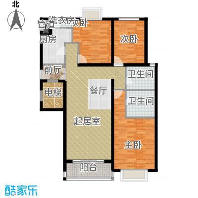 夏威夷水岸1号136.38㎡C1公寓户型10室