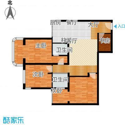 黄金SOHO133.00㎡A#C户型4室2卫