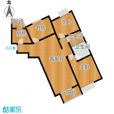 中兴和园99.13㎡7#2单元-04-C5反三室户型3室1厅2卫1厨