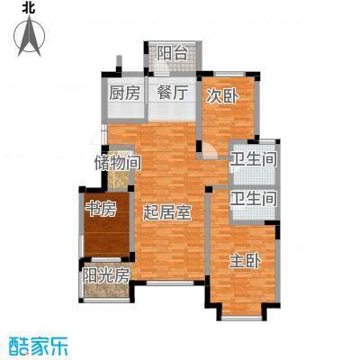 中信城115.86㎡户型10室