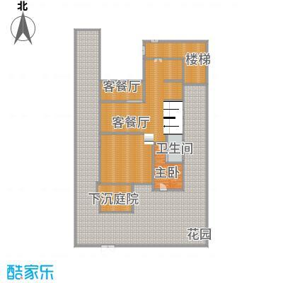 中信城399.00㎡山居首层户型1室1厅1卫