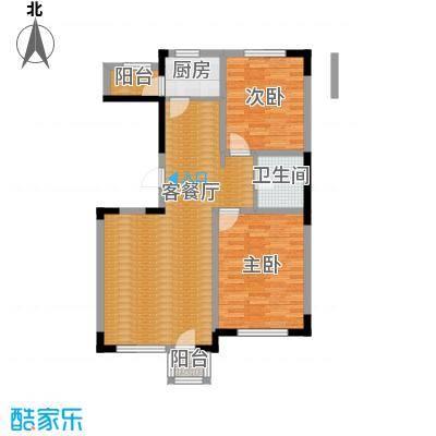 绿地新里中央公馆105.00㎡11栋03户型2室1厅1卫1厨