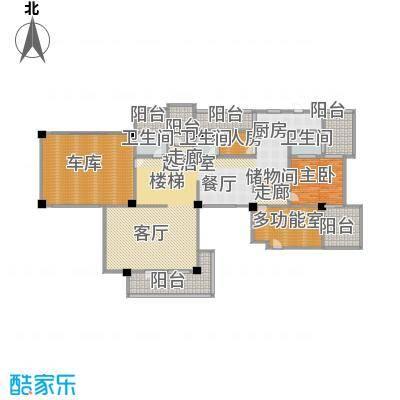 优山美地独体别墅-3户型1室3卫