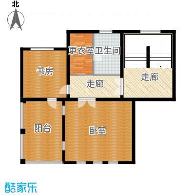 华业龙玺别墅633.00㎡DL1三楼平面图户型10室