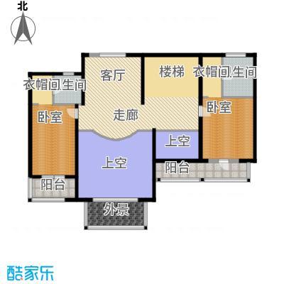 华业龙玺别墅633.00㎡DL1二楼平面图户型10室