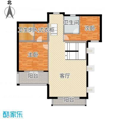 华业龙玺别墅487.00㎡DL4二楼平面图户型10室