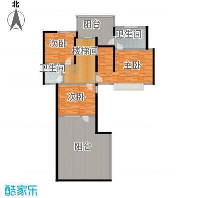 优山美地独体别墅-4户型3室2卫