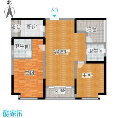 紫檀山126.00㎡3-4号楼户型10室