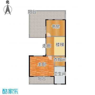 鼎峰尚境96.15㎡环山别墅I组团C第三层户型2室1卫