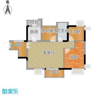 鼎峰尚境88.00㎡5栋小户型3室2厅1卫